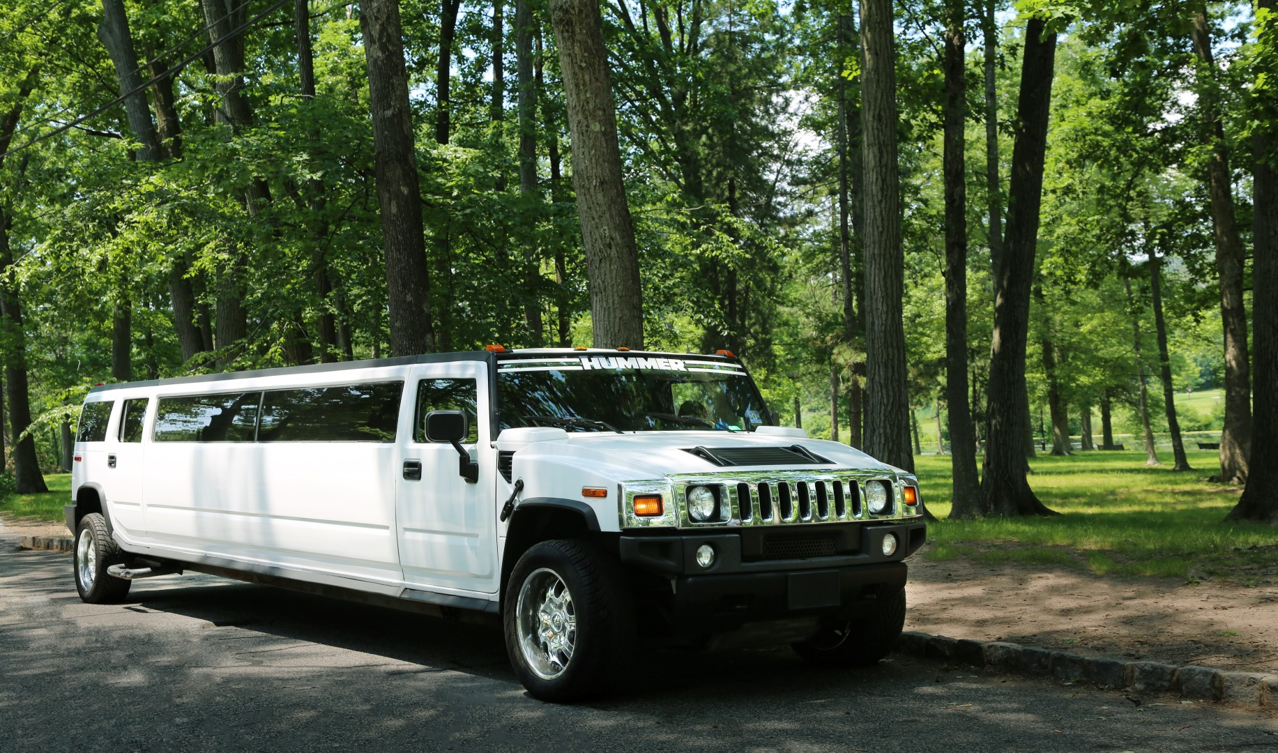 Rent White Hummer Stretch Limousines Nj Ny Ct Pa