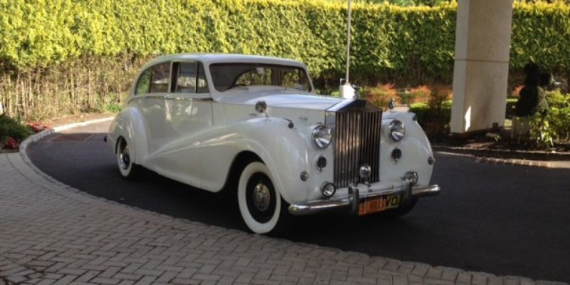 rolls royce limo rental for NJ weddings
