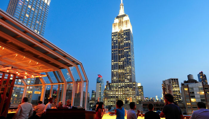 Rooftop Bars In Jersey City Nj