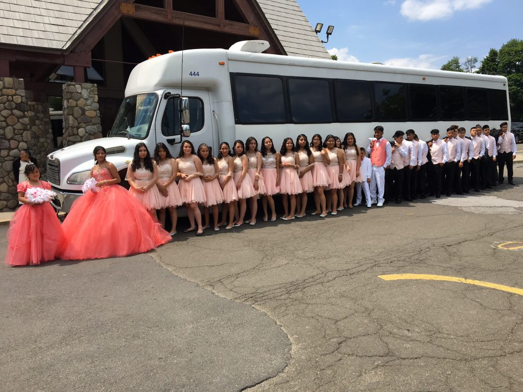 party bus for quince