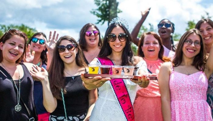 bachelorette party at applewood winery