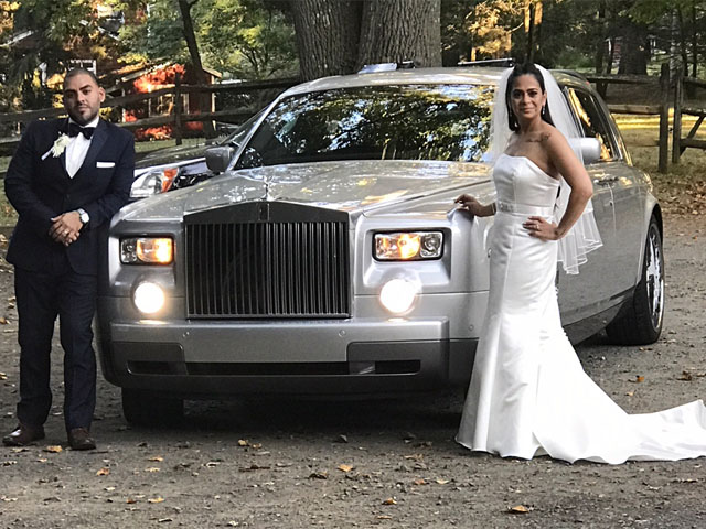 phantom wedding limo