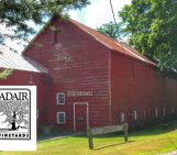 historical barn at adair vineyard