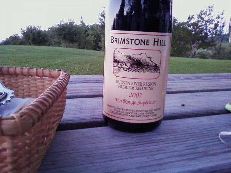 brimstone hill wine