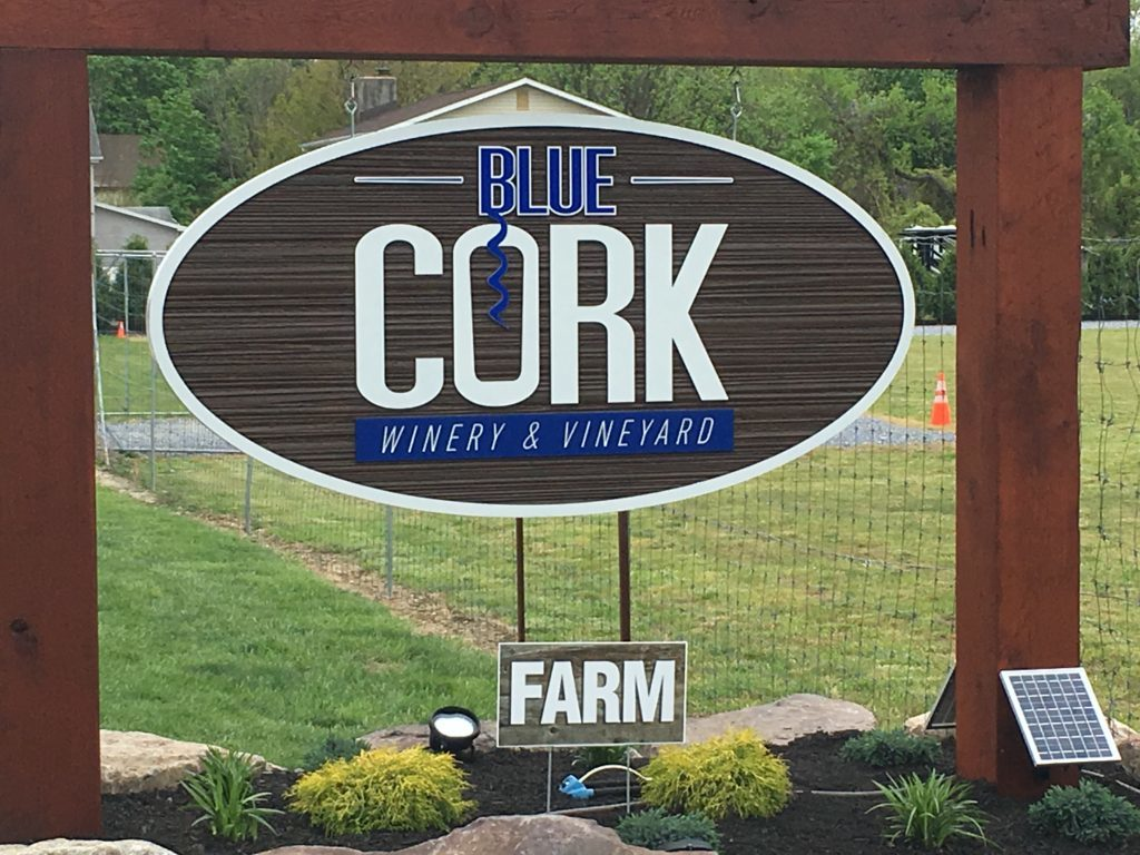 blue cork winery and vineyard